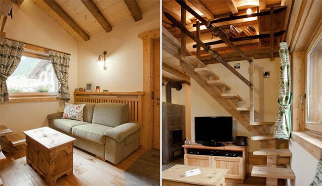 Decorazioni Casa In Montagna : Arredamento di montagna la bottega del legno
